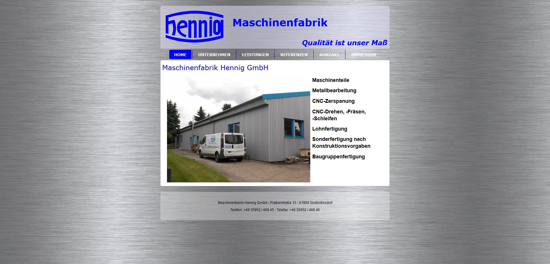 Maschinenfabrik Hennig