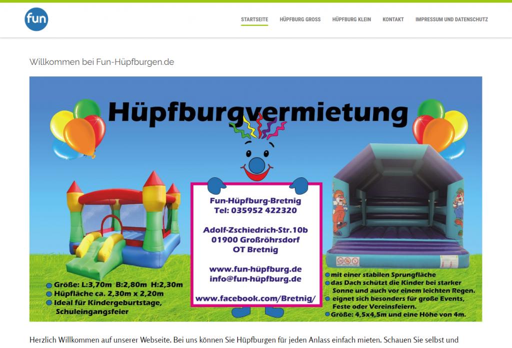 Fun-Hüpfburg